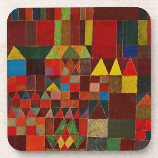 Paul Klee Castle And Sun Beverage Coaster