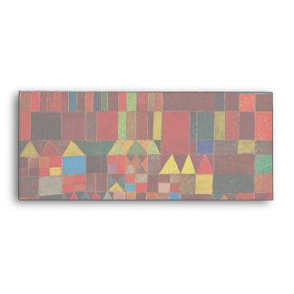 Paul Klee Castle And Sun Envelope