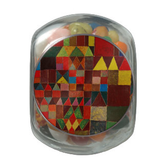 Paul Klee Castle And Sun Glass Candy Jars