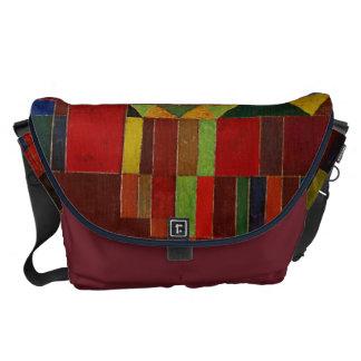 Paul Klee Castle And Sun Courier Bag