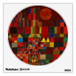 Paul Klee Castle And Sun Room Stickers
