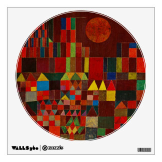 Paul Klee Castle And Sun Wall Decal