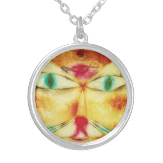 Paul Klee Cat and Bird Necklace
