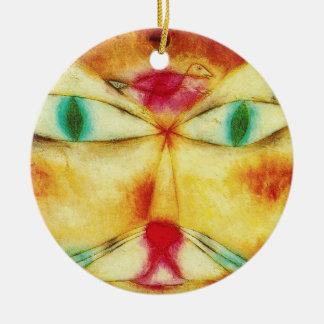 Paul Klee Cat and Bird Ornament