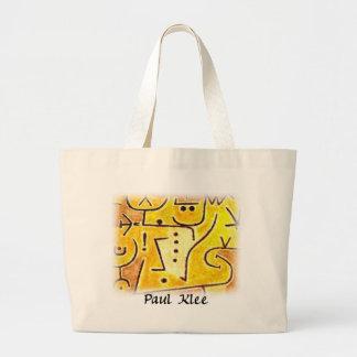 Paul Klee - chaleco rojo Bolsa De Mano