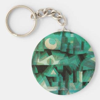 Paul Klee Dream City Key Chain