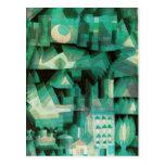 Paul Klee Dream City Postcard