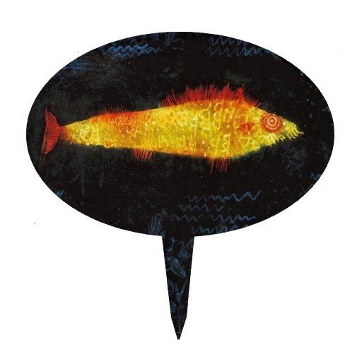 Paul Klee el arte de la acuarela del vintage del Figuras Para Tartas