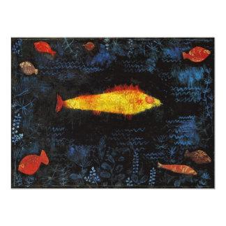 Paul Klee el Goldfish Invitaciones Personalizada