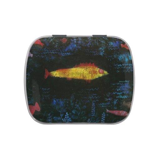 Paul Klee- el Goldfish Jarrones De Caramelos