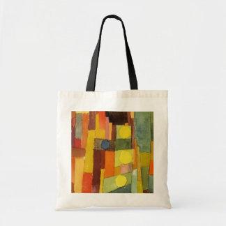 Paul Klee en el estilo de Kairouan Bolsa Tela Barata