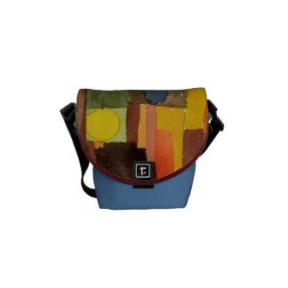 Paul Klee en el estilo de Kairouan Bolsa Messenger