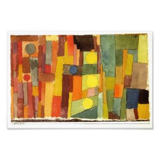 Paul Klee en el estilo de Kairouan Impresiones Fotográficas