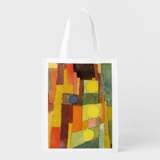 Paul Klee en el estilo de Kairouan Bolsas Reutilizables