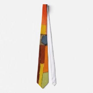 Paul Klee en el estilo del arte de la acuarela de Corbatas Personalizadas