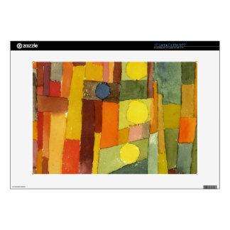 Paul Klee en el estilo del arte de la acuarela de Skins Para 38,1cm Portátil