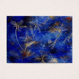 Paul Klee Fairy Tales Abstract Art Business Card