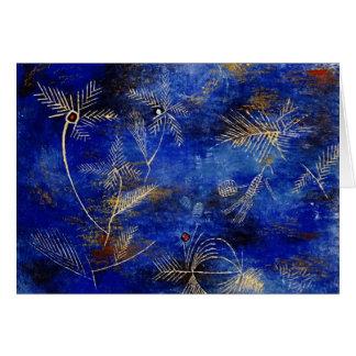 Paul Klee Fairy Tales Abstract Art Stationery Note Card