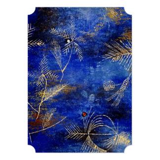 Paul Klee Fairy Tales Abstract Art Card