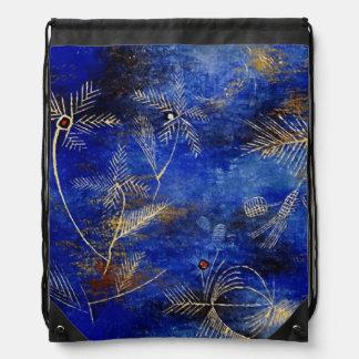 Paul Klee Fairy Tales Abstract Art Drawstring Bag