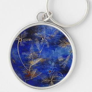 Paul Klee Fairy Tales Abstract Art Keychain
