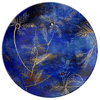 Paul Klee Fairy Tales Abstract Art Porcelain Plates