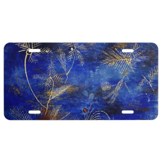 Paul Klee Fairy Tales License Plate
