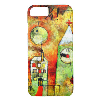 Paul Klee - Fateful Hour at Quarter to Twelve iPhone 8/7 Case