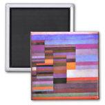Paul Klee - Fire Evening Refrigerator Magnets