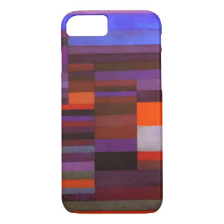Paul Klee Fire in the Evening iPhone 7 case