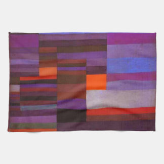 Paul Klee Fire in the Evening Kitchen Towel