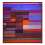 Paul Klee Fire in the Evening Print Art Photo