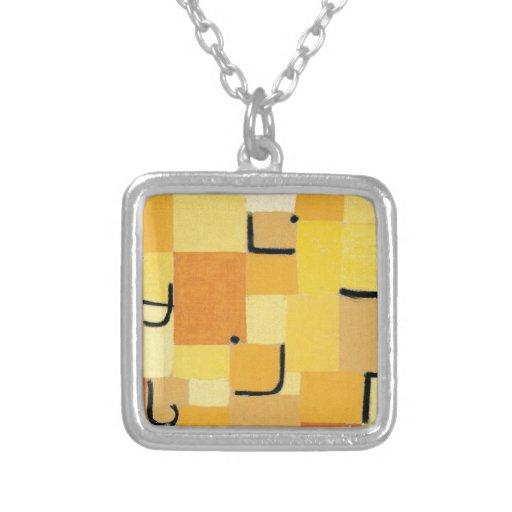 Paul Klee - firma adentro amarillo Grimpolas Personalizadas