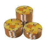 Paul Klee - firma adentro amarillo Fichas De Póquer