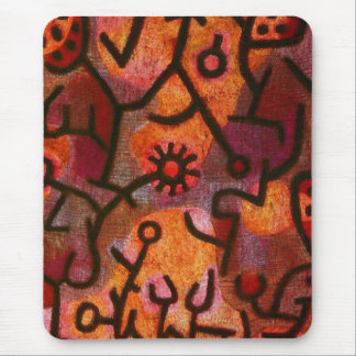 Paul Klee Flora di Roccia Mouse Pad