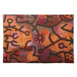 Paul Klee Flora di Roccia Placemat Manteles