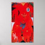Paul Klee Flower Myth Poster