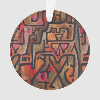 Paul Klee Forest Witches Abstract Ornament