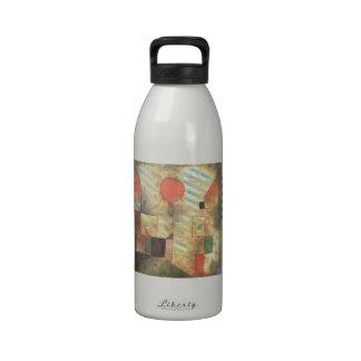 Paul Klee: Globo rojo Botellas De Agua Reutilizables