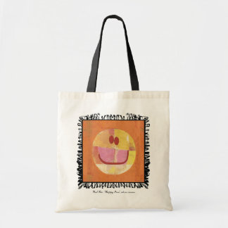 paul klee happy face bag