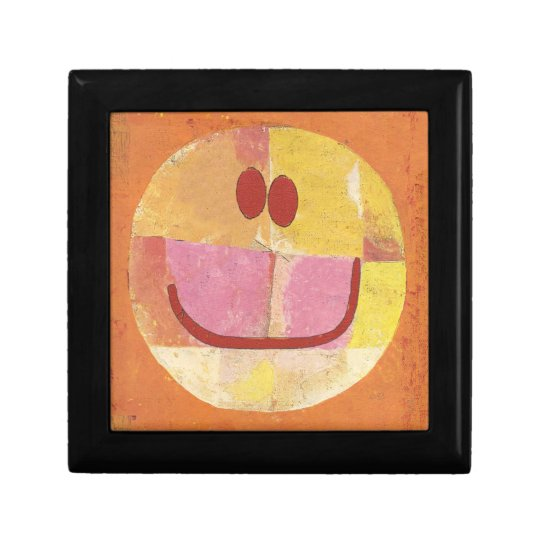 paul klee happy face gift box