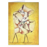 Paul Klee - hermanos Tarjeta De Felicitación