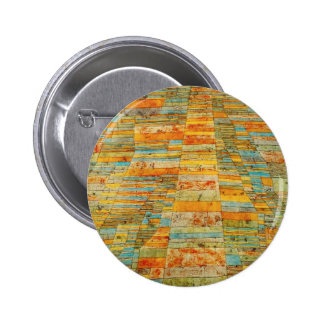 Paul Klee Highways and Byways Button