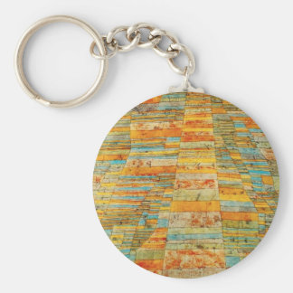 Paul Klee Highways and Byways Key Chain
