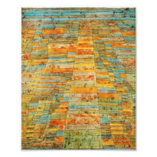 Paul Klee Highways and Byways Photo Print