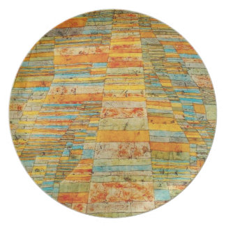 Paul Klee Highways and Byways Plate