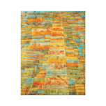 Paul Klee Highways and Byways Poster Canvas Print