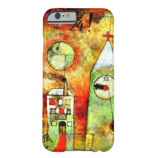 Paul Klee - hora profética en el cuarto a doce Funda De iPhone 6 Barely There