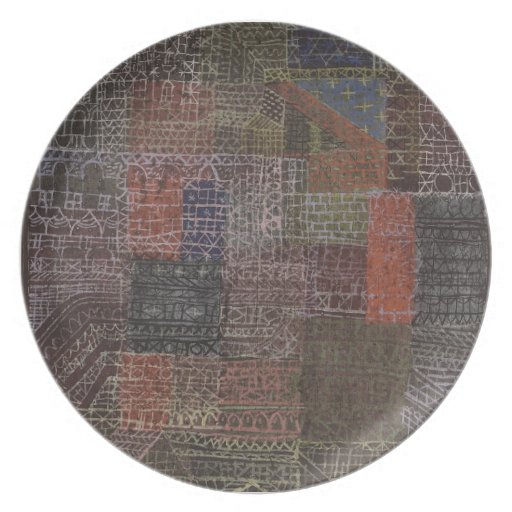Paul Klee- II estructural Plato