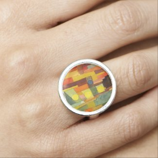 Paul Klee In The Style Of Kairouan Ring